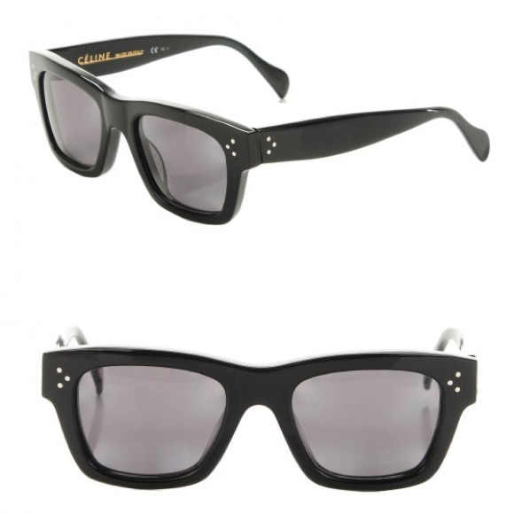 d83cca5b82fe CELINE Sunglasses CL 41732 Black Polarized